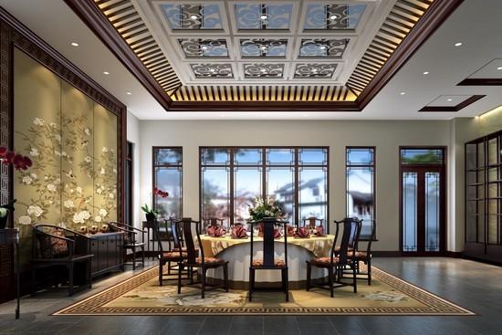 中式风格餐厅设计推荐