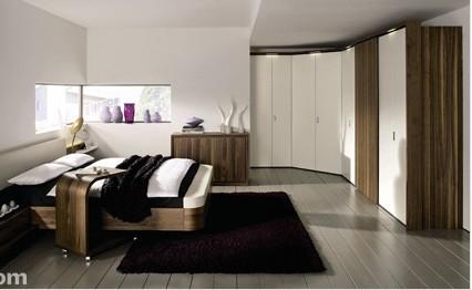 打造浪漫时尚卧室衣柜