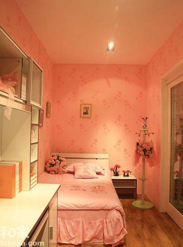小空间也温馨 11个小户型儿童房设计 高清图片