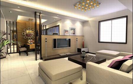 :欧式客厅电视背景墙
