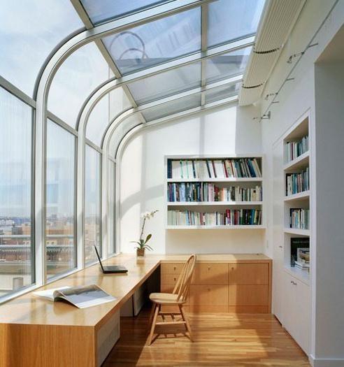 1.阳台改造成小书房