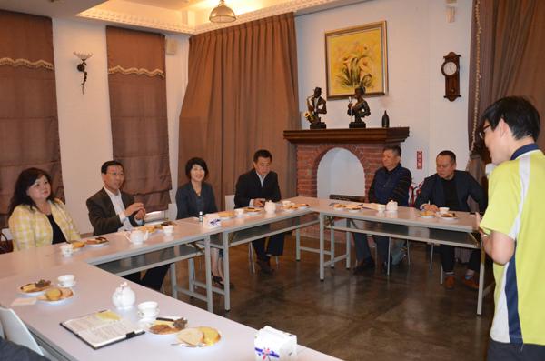 机电商会台北办事处李荣民主任一行赴台东参访交流