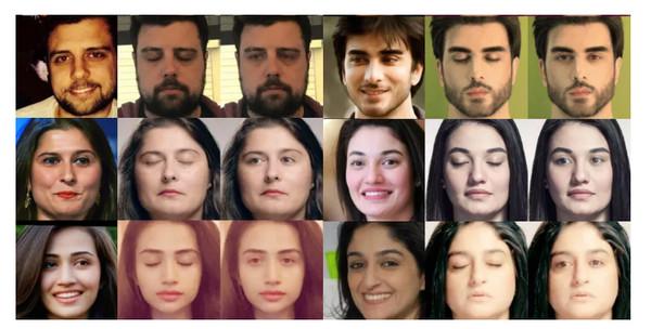 不满眨眼丑照被上传?facebookAI新技术帮你修图