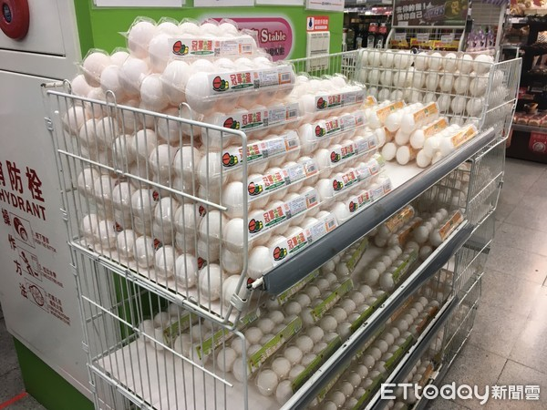 台湾鸡蛋价格创20年新高 每斤36.5元新台币