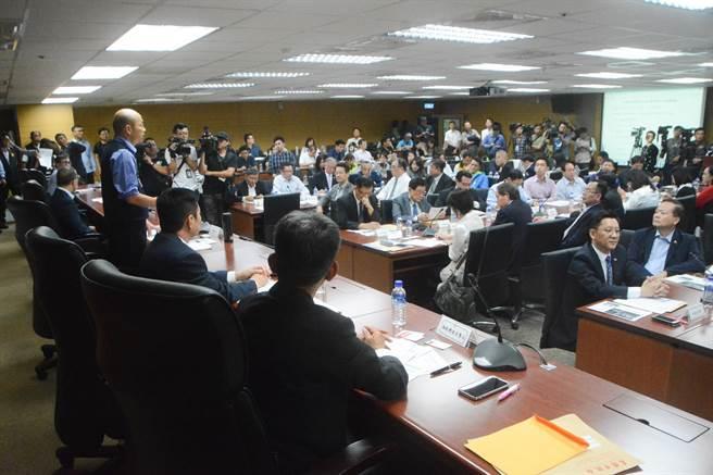 韩国瑜:大多数台湾人民希望两岸走向和平