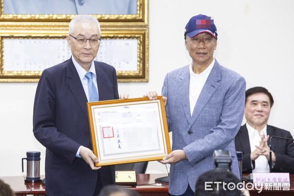 郭台铭投身2020大选 鸿海:营运由专业经理人负责