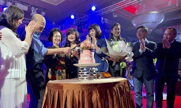 韩国瑜祝福琼瑶81岁大寿 她第二个生日愿望藏亮点