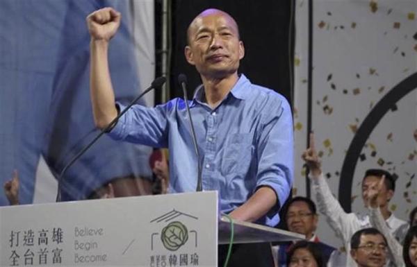 旺旺中時最新民調:2020臺灣地區領導人選舉,韓國瑜在高雄支持度全面領先