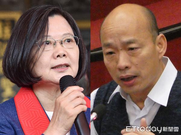 """呛""""蔡英文谋杀式打赖清德"""" 韩国瑜:台湾未来的方向只有2种"""