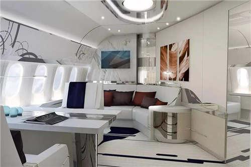 世界最豪华飞机