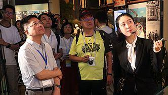 两岸记者走进深圳博物馆 感受经济特区的改革巨变